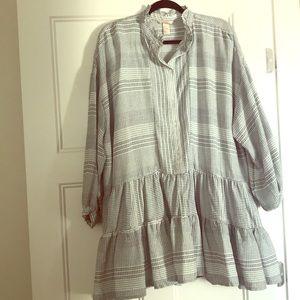 H&M drop waist tunic dress